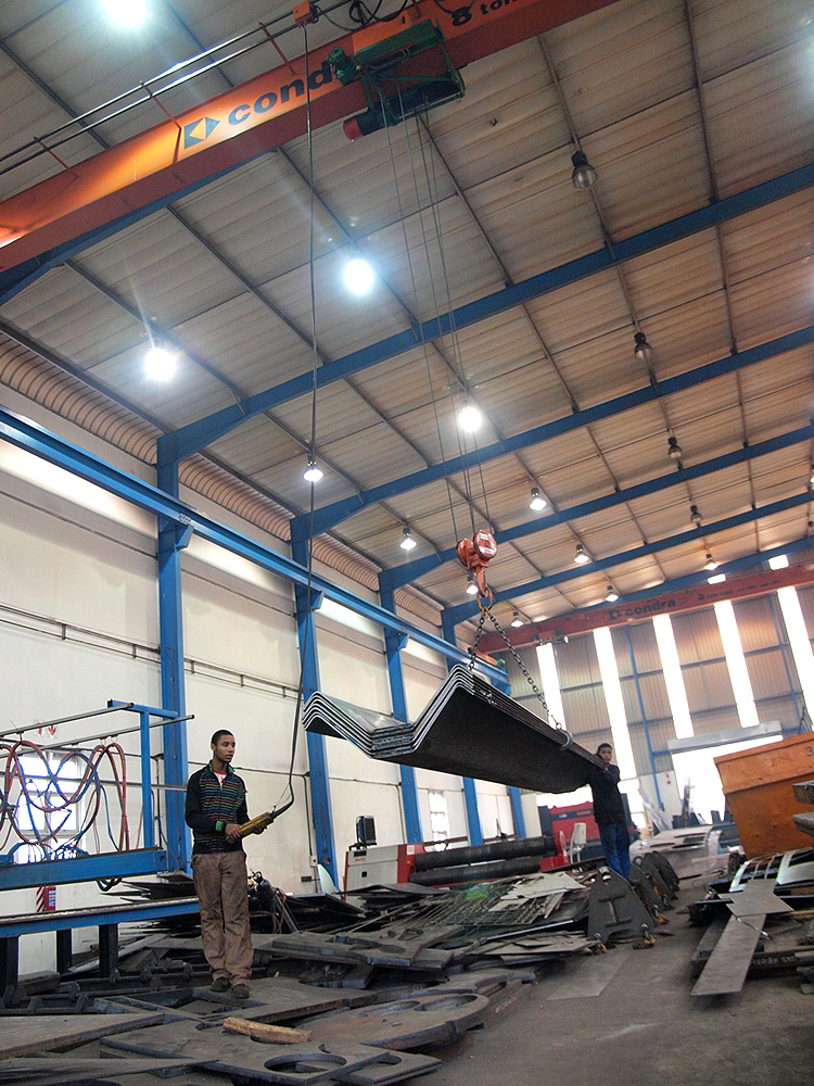 Metal Flame Cutting Bending Rolling Guilloting And
